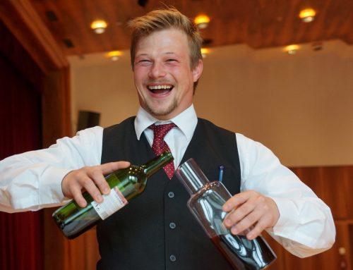 Professioneller Weinverkauf und Service